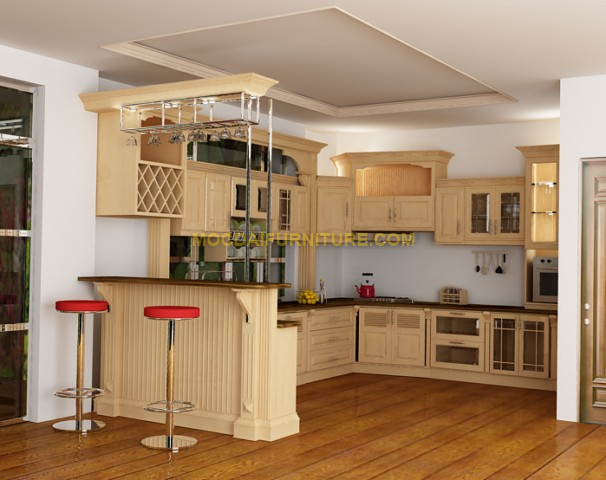 Kitchen MDK4   MODAI FURNITURE CORPORATION   Thiết kế - Cung